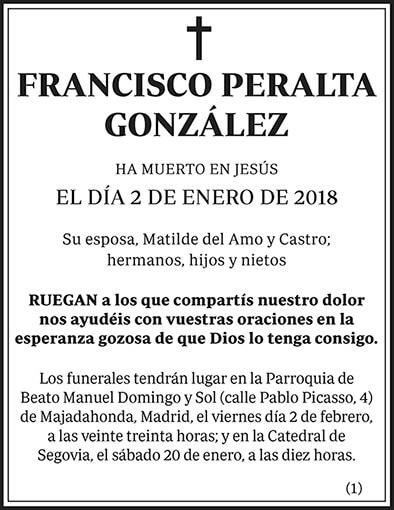 Francisco Peralta González